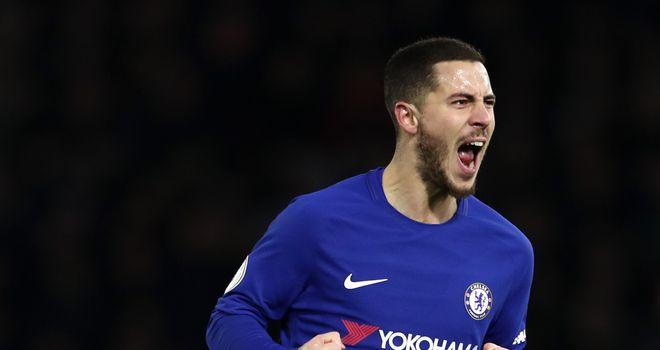 Hazard joined Chelsea in 2012
