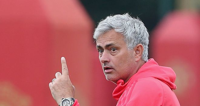Mourinho's side take on Leicester in Friday's Premier League opener