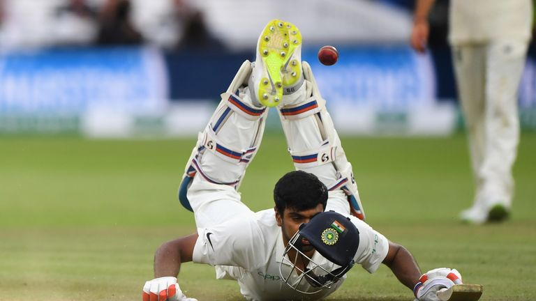 Nasser Hussain says India need to show their mettle after slipping 2-0 down in their Test series against England.