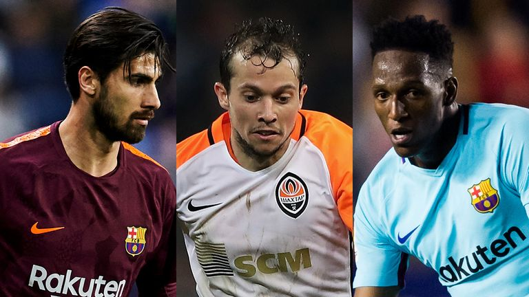Andre Gomes, Bernard and Yerry Mina signed for Everton on Deadline Day