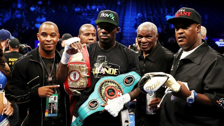 Andrew Tabiti has been guided by Floyd Mayweather's promotional company