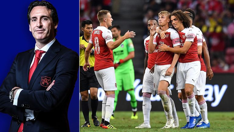 Transfer: Four Arsenal players who have failed to impress Unai Emery revealed