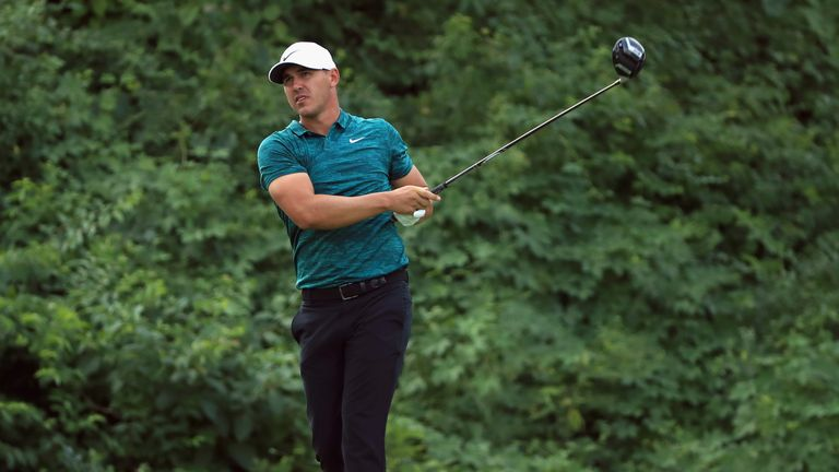 Koepka is only the fifth man to win the US Open and PGA titles in the same year