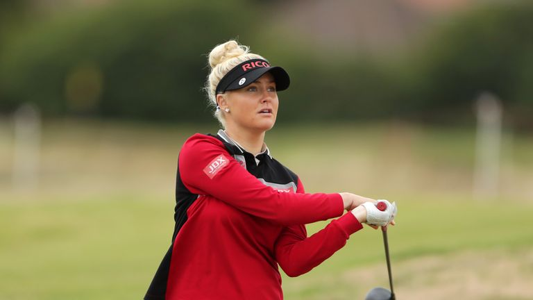 Emotional Georgia Hall joins golfing elite with British Open win