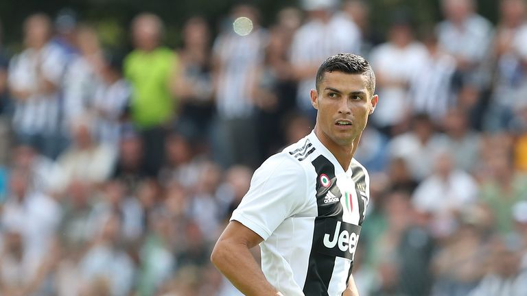 Ronaldo scoreless but Juventus wins Serie A opener