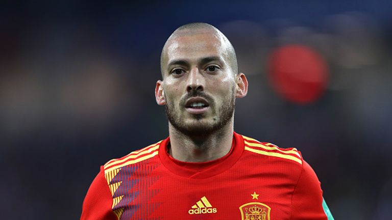 Manchester City playmaker David Silva retires from Spain duty