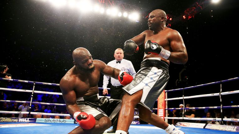 'Del Boy' demolished Takam in the eighth round