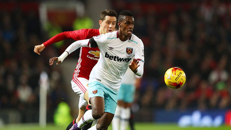 Edmilson joined West Ham from FC Sion in 2016