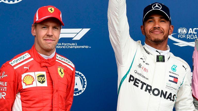 Belgian GP Qualifying: Lewis Hamilton beats Sebastian ...