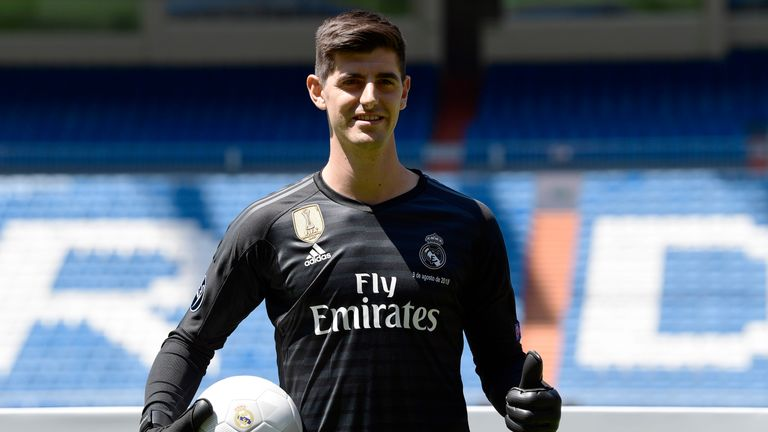 Thibaut Courtois Joined Real Madrid From Chelsea