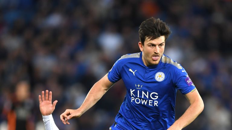Harry Maguire is a United target but could play against them on Friday
