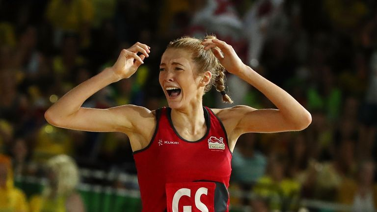 Housby's last-second goal helped England seal Commonwealth Games gold against Australia