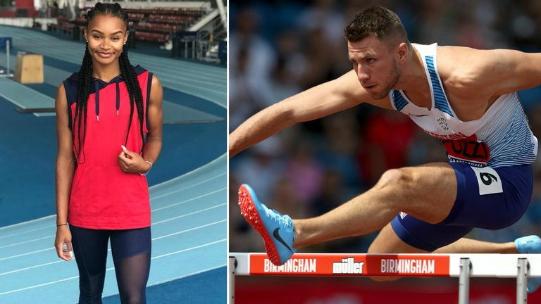 Imani Lansiquot and Andrew Pozzi fired up for success in Germany