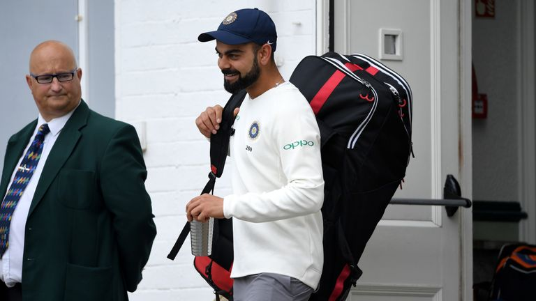 England vs India, third Test, day one