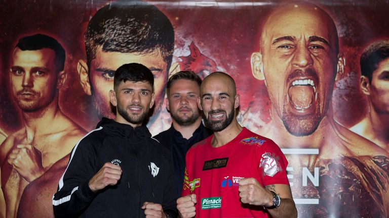 Cordina and Dodd will battle for the Commonwealth lightweight title