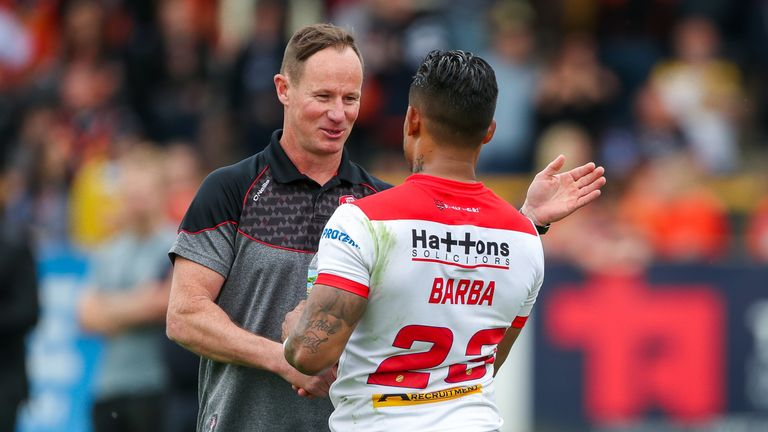More will be known in the 'next couple of weeks' regarding Ben Barba's future