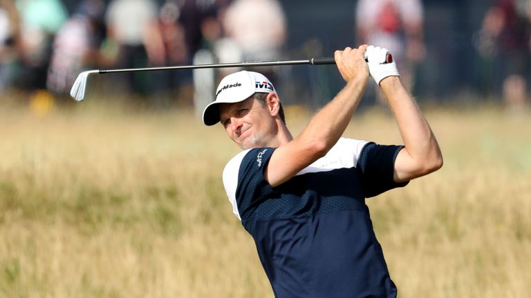 Justin Rose is in a high-profile group with Jordan Spieth and Jon Rahm
