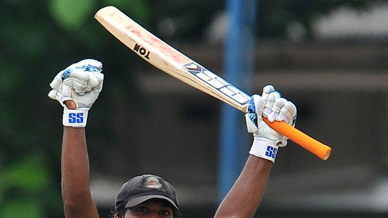 Kumar Sangakkara scored 10 double Test centuries in his 16-year career for Sri Lanka