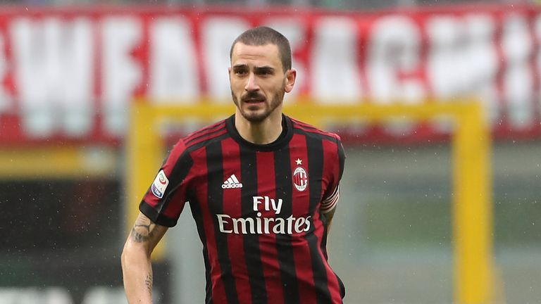 Higuain and Caldara join Milan, Bonucci returns to Juve