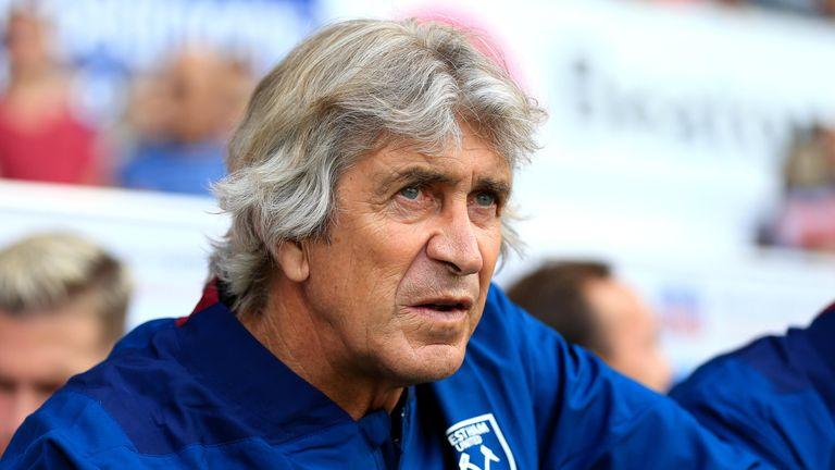 Manuel Pellegrini is confident West Ham have built a competitive squad