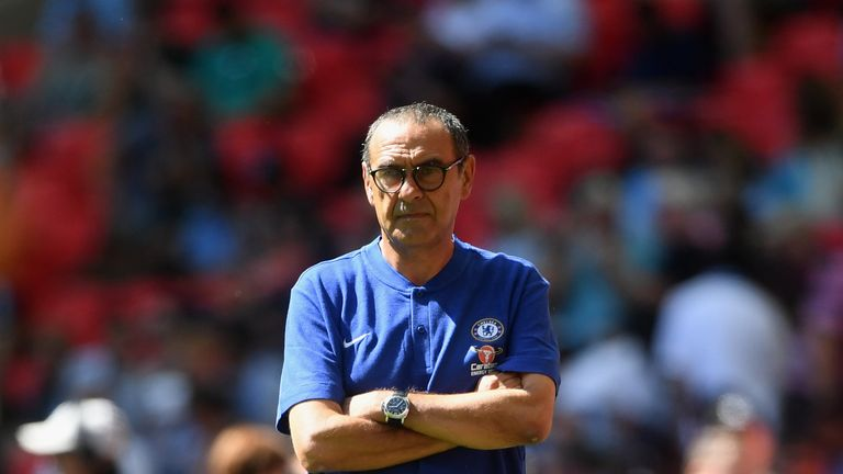 Maurizio Sarri says he only wants players who are committed to the cause