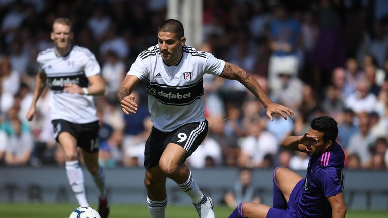 Aleksandar Mitrovic joined Fulham permanently for £20m