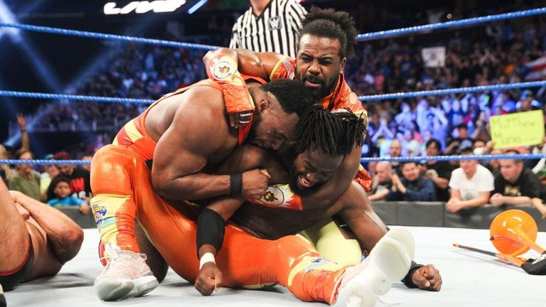 The New Day were involved in a superb match against The Bar on SmackDown