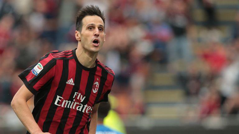 Nikola Kalinic has moved from AC Milan to Atletico Madrid