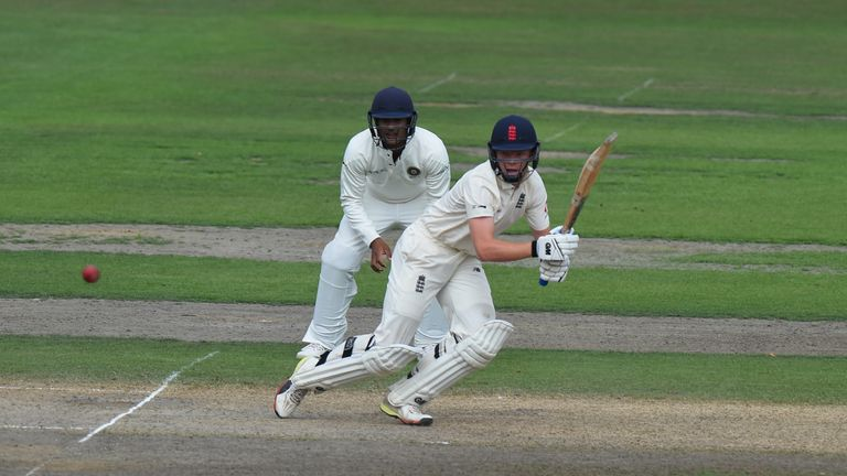 Pope played for England Lions against India A a few weeks ago