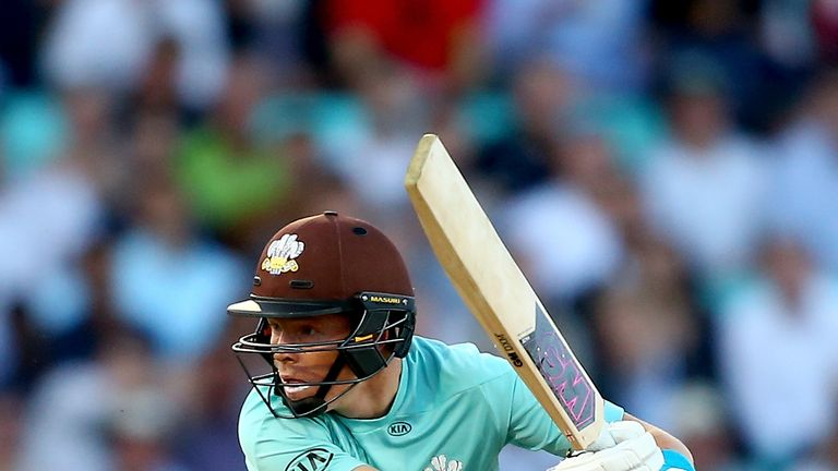 Pope has a T20 high score of 46 for Surrey