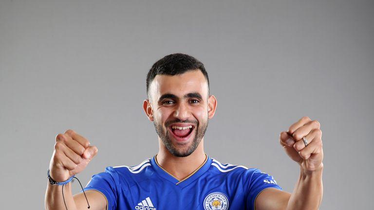 Leicester have signed Rachid Ghezzal on a four-year deal