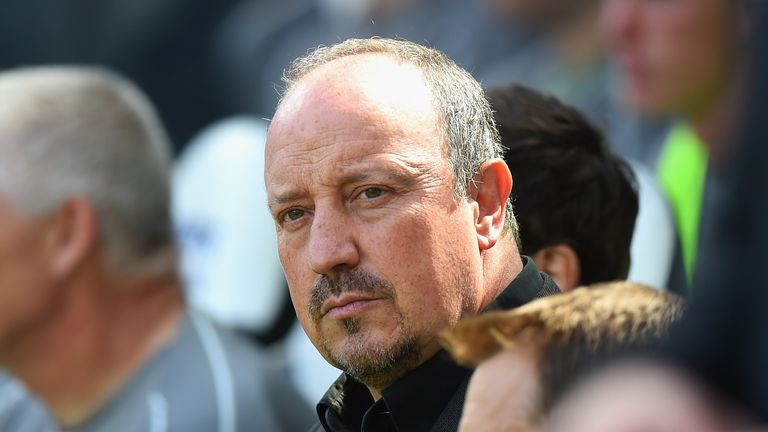 Newcastle boss Rafa Benitez is unhappy with the club's transfer business