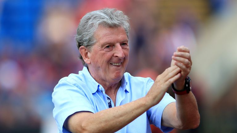 Roy Hodgson joined Palace as manager last September