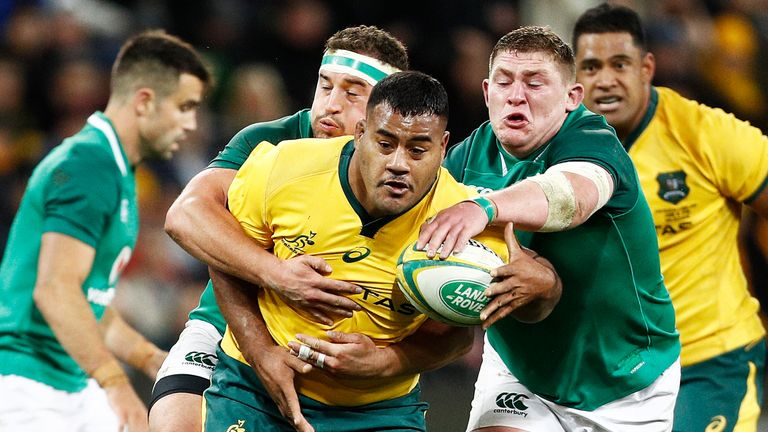 Bledisloe Cup Wallabies name squad with Tom Robertson to start