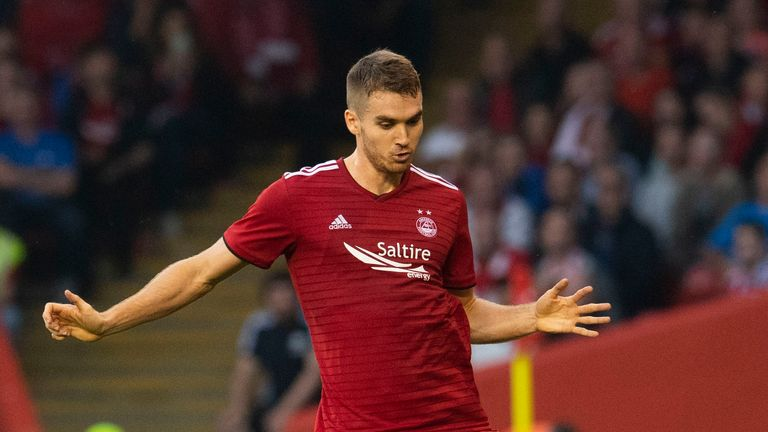 Tommie Hoban made his Aberdeen debut against Burnley last Thursday after joining on-loan from Watford