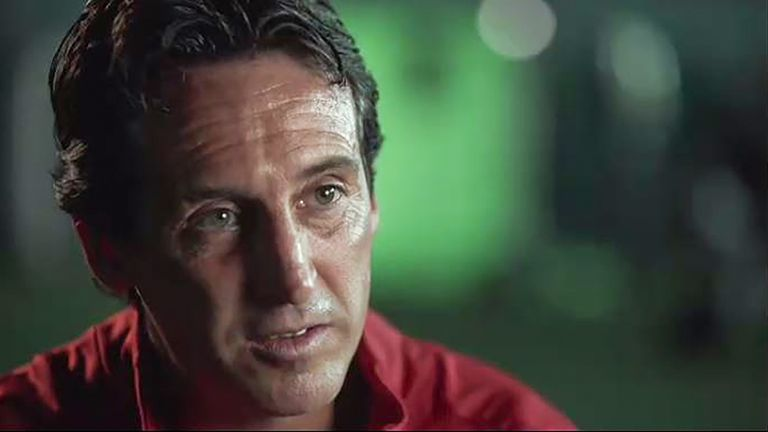 Unai Emery spoke exclusively to Sky Sports about his blueprint for Arsenal going forward