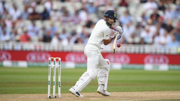 Virat Kohli scored a total of 200 runs across two innings in the first Test