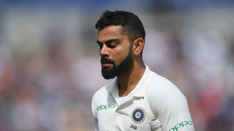 Virat Kohli's effort goes in vain as England win first Test