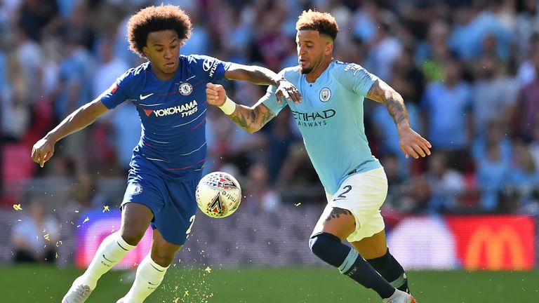 Willian has been linked with a move away from Chelsea this summer