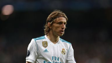 A fee of more than £600m was quoted to take Luka Modric to Inter