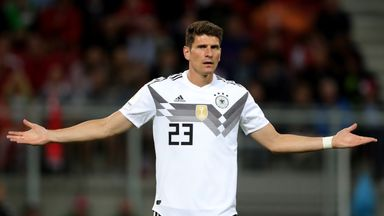 Mario Gomez won 78 caps for Germany, scoring 31 times