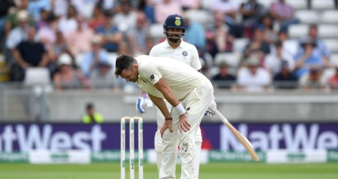 India's Sharma fined for Malan send-off in first Test