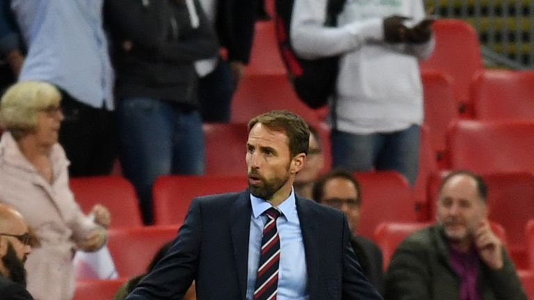 Gareth Southgate says he may need to reinforce his squad with players from England's U21s