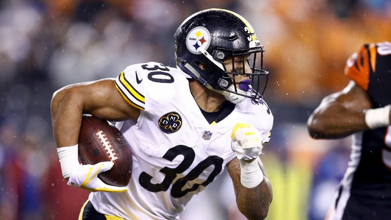 James Conner will carry the load for Pittsburgh in Le'Veon Bell's absence