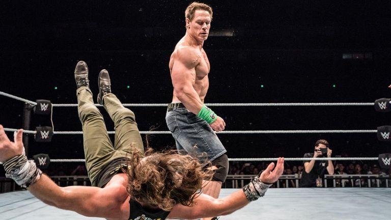 John Cena makes WWE return in China - and debuts new move