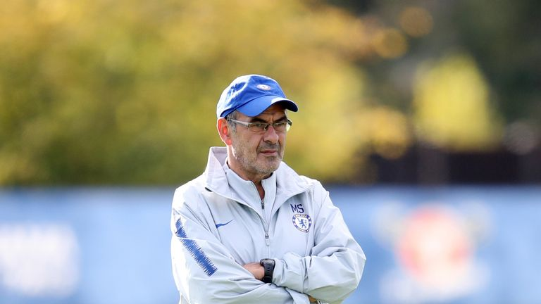 Maurizio Sarri's switch from playing three centre-backs to only two has dramatically reduced Christensen's time on the pitch