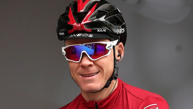 Chris Froome left Team Ineos last year and signed a long-term deal with Isreal Start-Up Nation