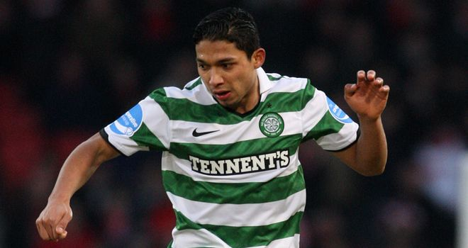 Izaguirre: Named as Scottish PFA Player of the Year