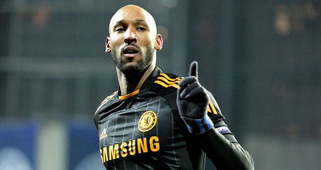 Nicolas Anelka: Believed to have agreed a two-year contract with Chinese outfit