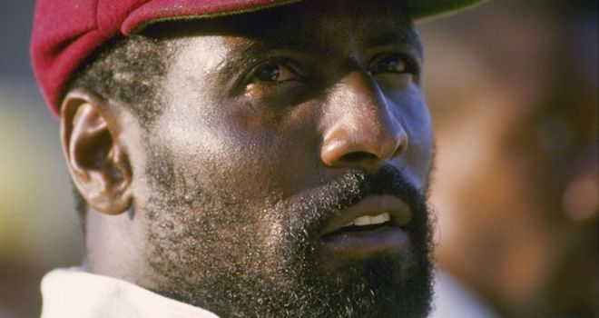 Michael Holding says Viv Richards (pictured) is the best batsman he has seen